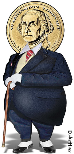 Washington Lobbyist | by DonkeyHotey