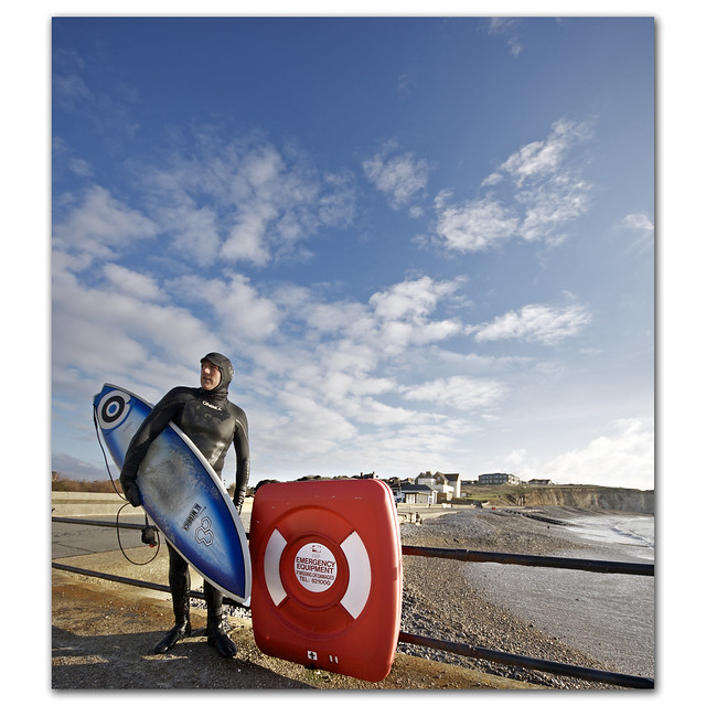 Emergency Equipment (for the ladies :) The Inflatable surfer