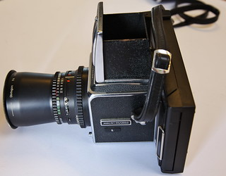 Hasselblad 500 C/M with Polaroid back #1   Carl Zeiss Distag