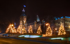 Chrismas Parliament - An HDR of the Quebec Parliament | by haban hero