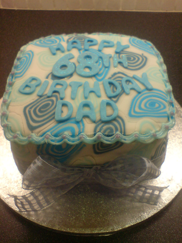 Miraculous Dads 68Th Birthday Cake My Dads Birthday Cake This Was An Flickr Birthday Cards Printable Trancafe Filternl