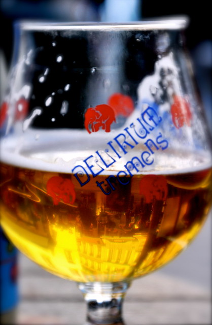Brussels Reflected In Beer