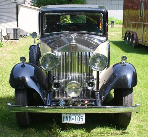 1934 Rolls Royce 20/25 Barker Saloon