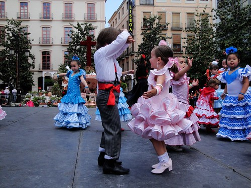 Flamenco in Granada, Spain