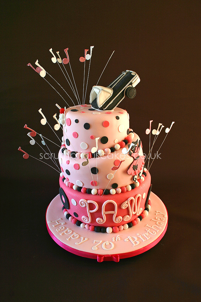 Terrific Birthday Cake 616 Retro 50S Style Paula Jane Bourke Flickr Funny Birthday Cards Online Necthendildamsfinfo