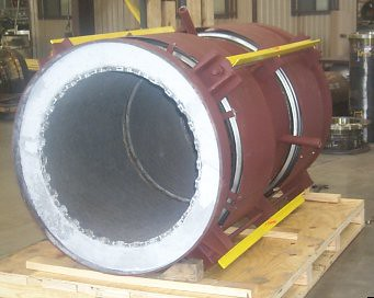 "44"" Universal Refractory Lined Expansion Joint For A Chemical Plant In Venezuela"