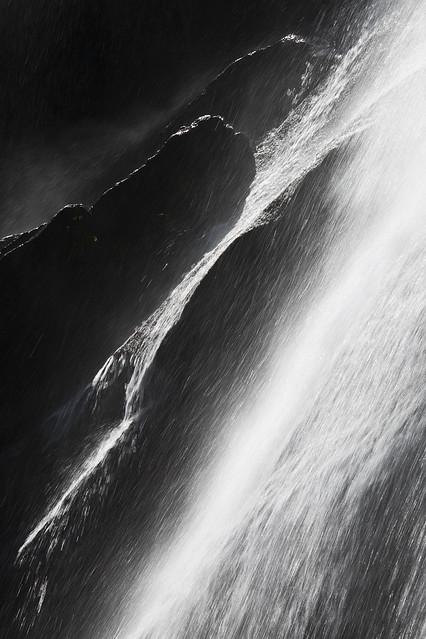 Bridal Veil Falls near Lake Serene