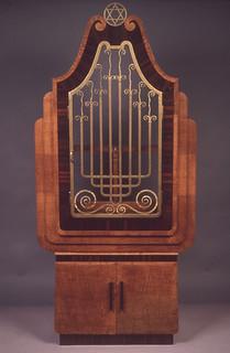 Torah Ark [92.24]: Torah Ark from the RMS Queen Mary
