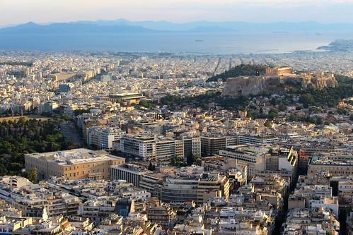 city sea museum port landscape cityscape view rooftops horizon parliament landmark athens greece acropolis piraeus horiz acropo