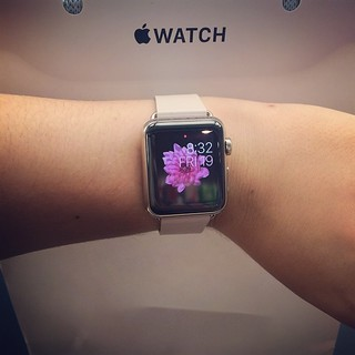 This just happened! ⌚️😍 #applewatch #applewatch38mmpink | by Cristina Robinson