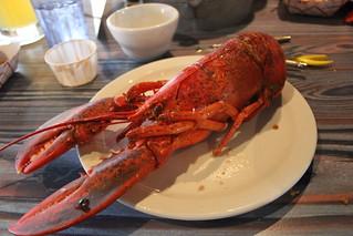 Cooked lobster at Joe's Crab Shack   by cornstalker
