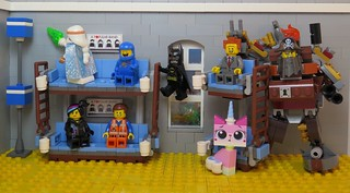 Emmet S Apartment Lego Movie Crew Ninja Bomb Flickr