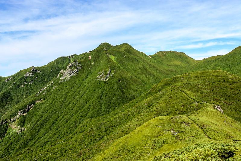 斜里岳 登山