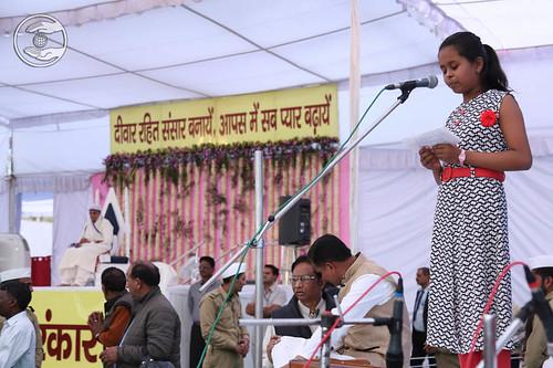 Baby Naisi from Dehradun, expresses her views