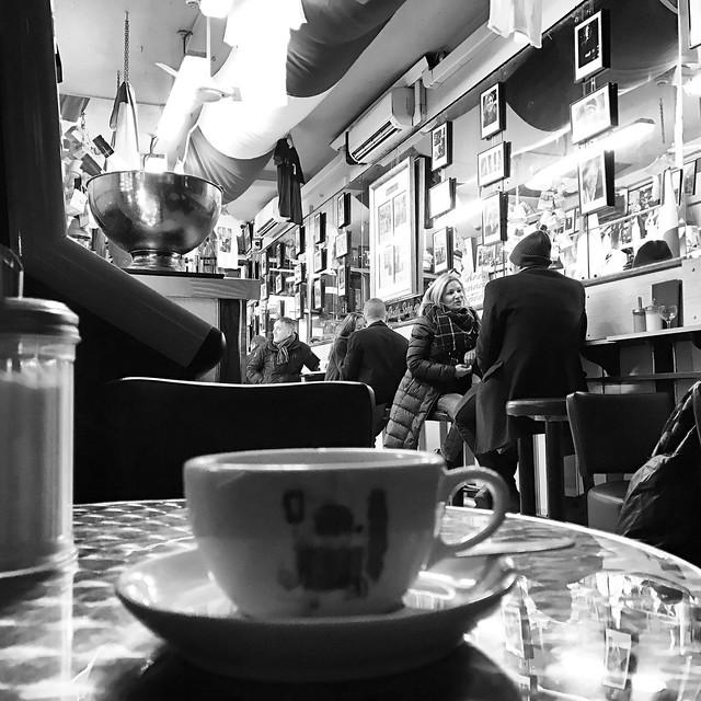 Bar Italia, Frith St, Soho