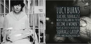 LUCY BURNS #100travelHERS | by sandrakaybee
