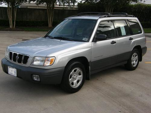 The New Old 2002 Subaru Forester L Posted Via Email From Flickr