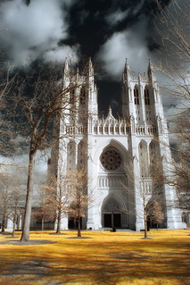 National Cathedral Infrared | by Dogeo