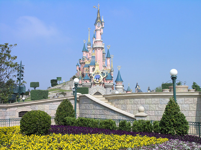 Disneyland Paris - castle of the sleeping beauty 1