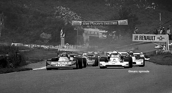 Race Start Mont Tremblant/St. Jovite Quebec 1976