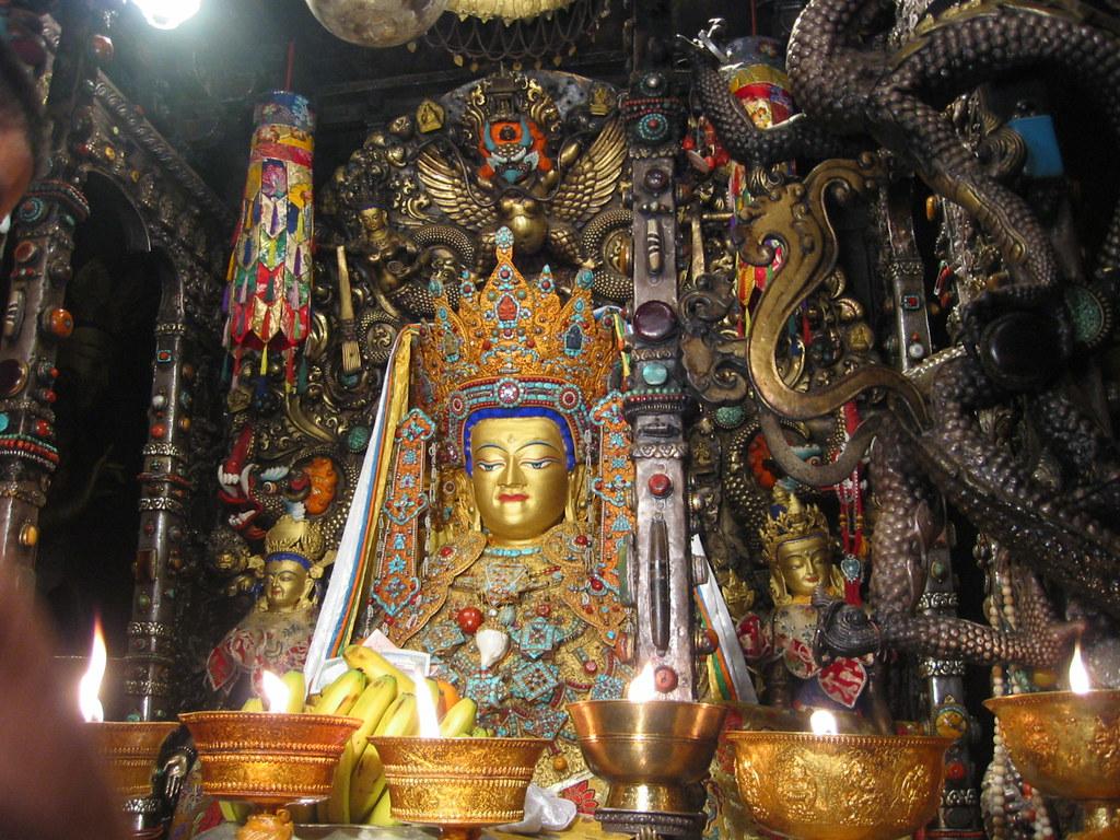 Jowo Sakyamuni Jokhang Lhasa Tibet China Buddha Rinpoche Prince Siddhartha 中国西藏拉萨大昭寺本师释迦牟尼佛十二岁等身像 觉阿佛 觉沃佛 仁波切 悉达多 太子 b04_jowo