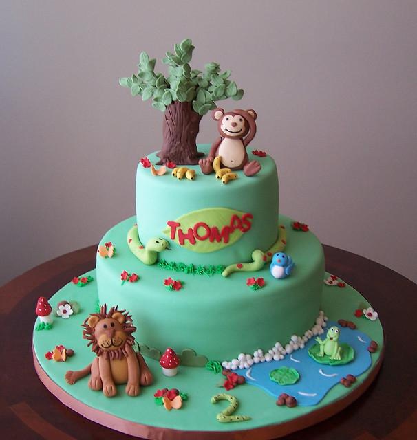 Jungle Cake for Thomas