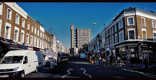 Golborne Road - Trellick Tower | by pitty107