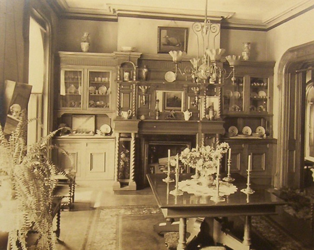 Victorian Dining Room 1890u0027s | Gaswizard | Flickr