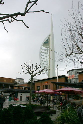 The Spinnaker from Gunwharf Quays, Portsmouth   by mark.hogan