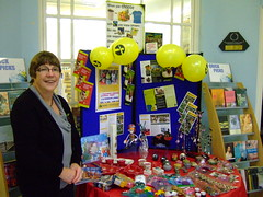 Oystermouth library tradefair display taken by Paul Gadsby