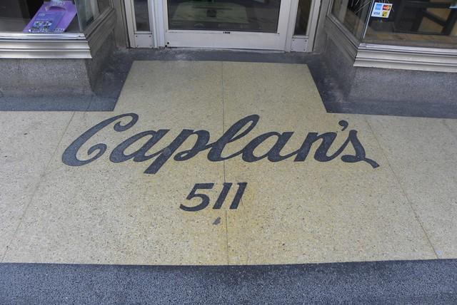Caplan S Terrazzo Entrance Toronto Former Clothing Store