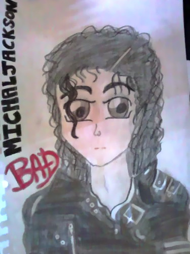 8f11726d8ddace ... MICHAEL JACKSON BAD (DRAWING)