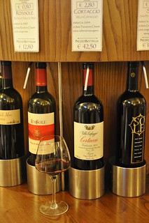 Wine Dispenser at the Cantina in Greve-in-Chianti | by Food Lovers Odyssey