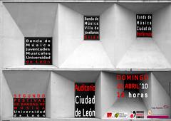 II FESTIVAL DE BANDAS DE MÚSICA UNIVERSIDAD DE LEÓN 2010