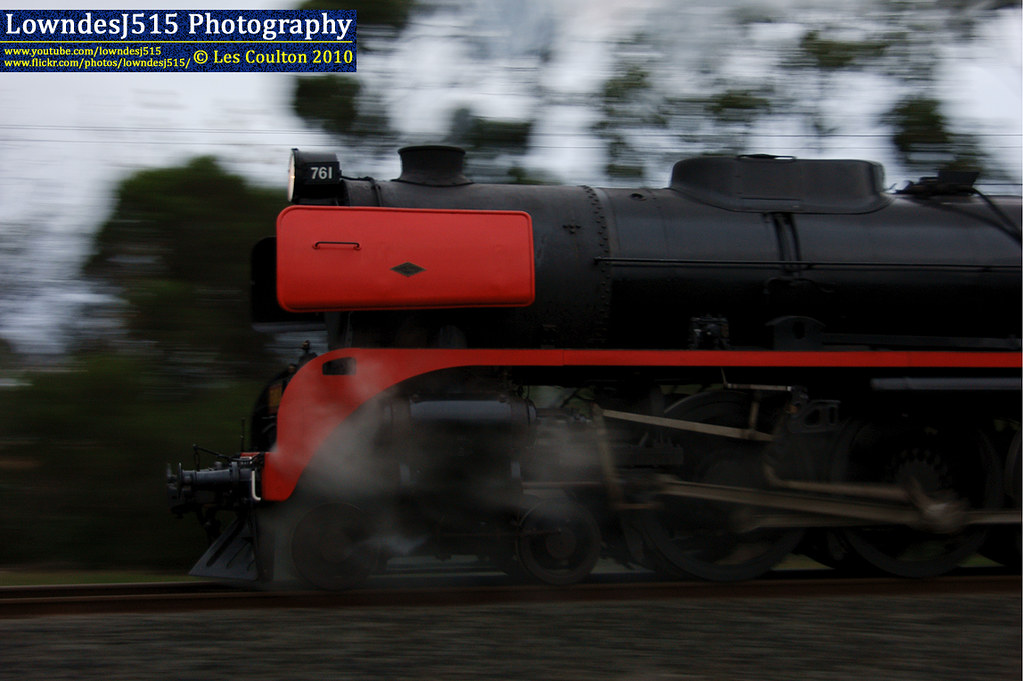 R761 at Traralgon by LowndesJ515