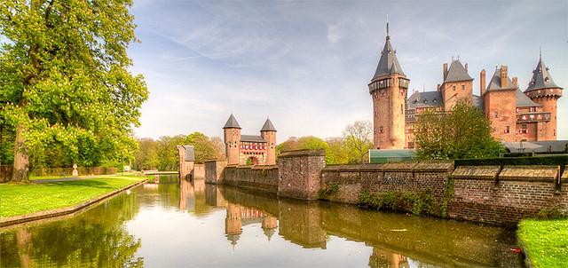 Castle De Haar in The Netherlands