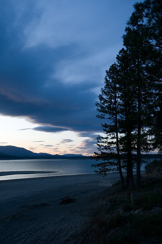 light sunset sky usa lake mountains water clouds landscape evening spring montana dusk dramatic rocky reservoir april koocanusa