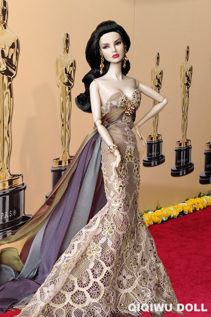 Regal Agnes in red carpet