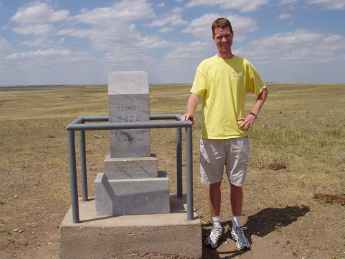 Hyrum on top of Nebraska!