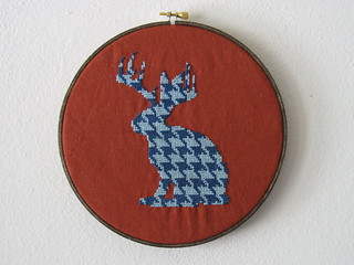 Houndstooth Jackalope | by flamgirlant (good_gorilla)