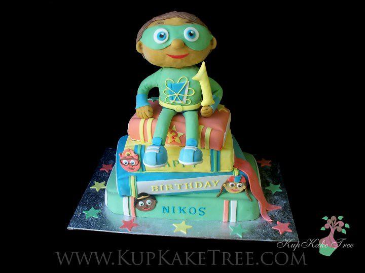 Cool Super Why Birthday Cake Kupkake Tree Flickr Personalised Birthday Cards Paralily Jamesorg
