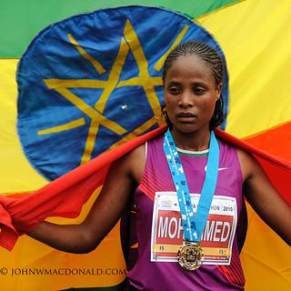 Merima Mohammed - Winner Women's Ottawa Marathon | by johnwmacdonald
