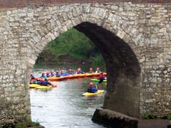 Canoe traing