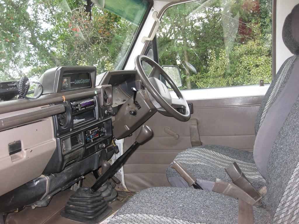 Cab of our 75 Series Toyota Landcruiser for sale | Cab of ou… | Flickr