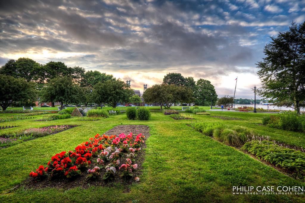 Prescott Park Gardens by Philip Case Cohen