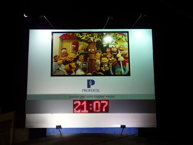 Reloj publicitario