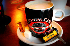 Stones Cafe, Amsterdam.