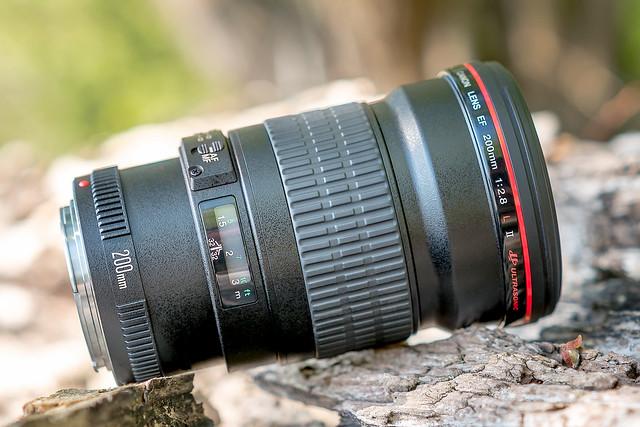Canon EF200mm ƒ/2.8L II USM