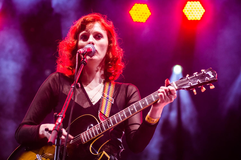 Karen Elson @ Rock Werchter (© 2017 Timmy Haubrechts)