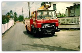 Dodge Commando  GO8 Ladder truck -Barbados